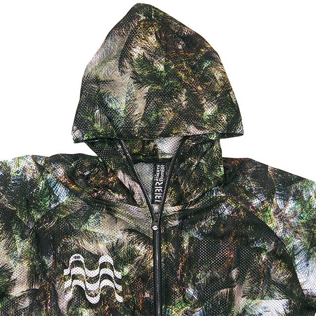 アスレタ ATHLETA BomBR トレーニングメッシュジャケット BR0164 パーカー フルジップ フード ボンビーアール メンズ レディース 男女兼用