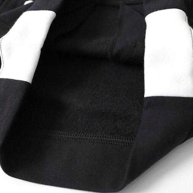 ナイキ NIKE Y アンプリファイプルオーバー BV3659-010 ジュニア スウェットパーカー プルオーバー デカ文字ロゴ 黒