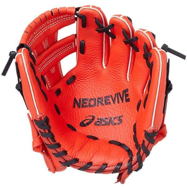 アシックス asics NEOREVIVE ネオリバイブ オールポジション用 3124A052 ジュニア 野球 ベースボール 軟式用 グローブ グラブ 練習 少年用