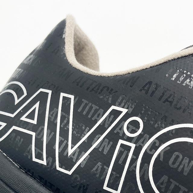 ガビック GAVIC マトゥー SALA ID 進撃の巨人 GS1030-BLKBLK フットサルシューズ インドア 室内 体育館 ブラック 黒 メンズ