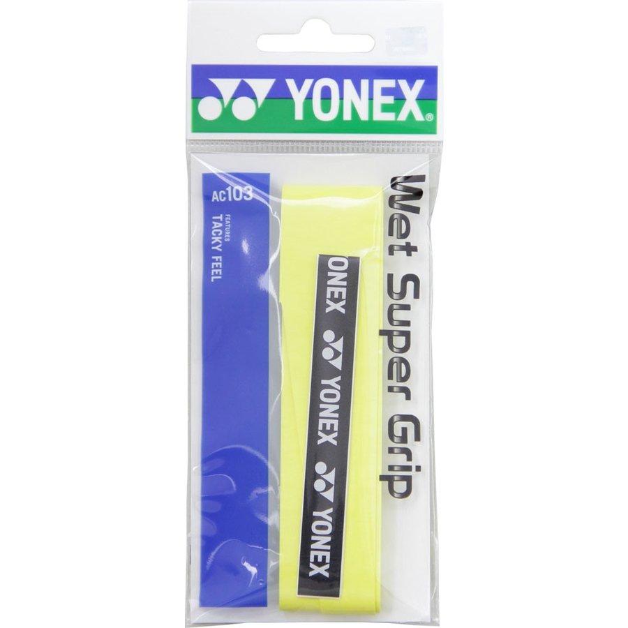 ヨネックス YONEX ウェット スーパーグリップ AC103 004 イエロー Y