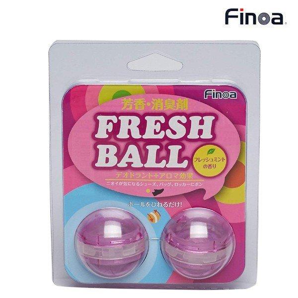フィノア FINOA 芳香消臭剤 フレッシュボール(ピンク) 5050 スポーツ アクセサリー シューズケア