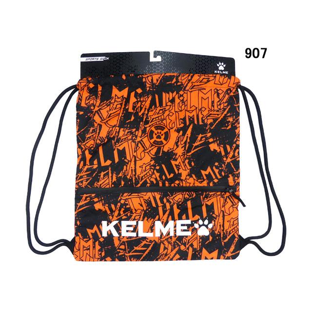 ケルメ KELME ZIP付き ジムサック Mサイズ Lサイズ 9886016 スポーツ ナプザック マルチパック ランドリーバッグ