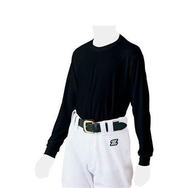 ゼット ZETT クルーネック ライトフィット BO8810J ジュニア 野球 ベースボール アンダーシャツ 長袖Tシャツ トレーニングウェア 子供用