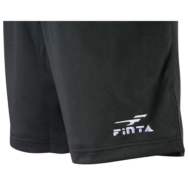 サッカー 審判服 審判着 裏起毛 レフリーパンツ フィンタ FINTA ブラック FT5149