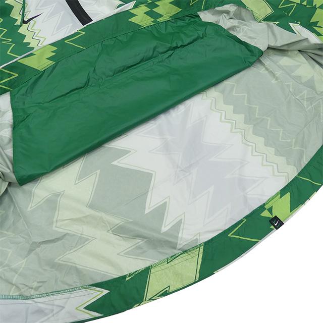 ナイジェリア代表 ウーブン ポンチョ CU1405-302 雨具 防水 普段使い 応援 フード ポケット付き フリーサイズ ナイキ NIKE