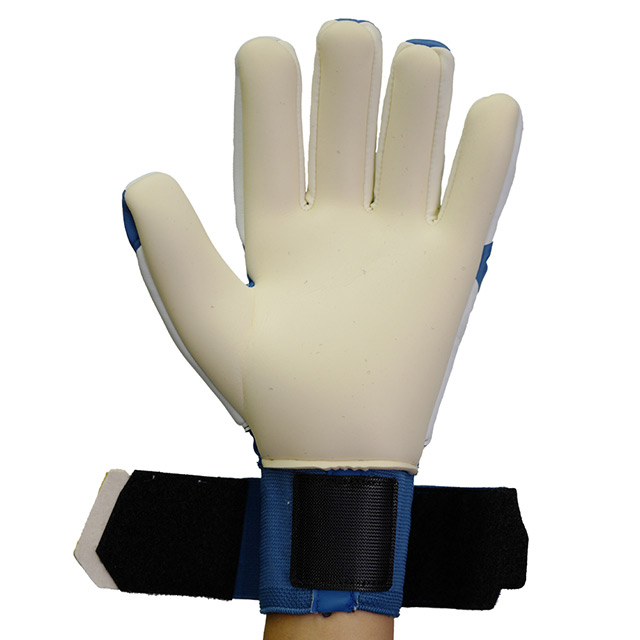 ウールシュポルト uhlsport HA アブソルートグリップ ハーフネガティブ 1011235-01 キーパーグローブ GKグローブ キーグロ ゴールキーパー ブルー