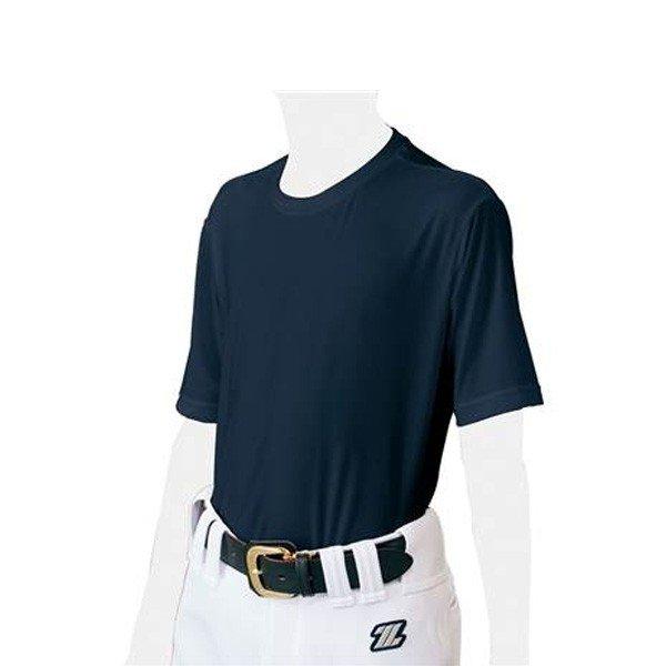 ゼット ZETT ライトフィットクルー SS BO1810J ジュニア 野球 ベースボール アンダーシャツ 半袖Tシャツ Tシャツ 練習 トレーニングウェア 少年野球