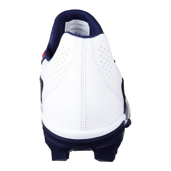 アシックス asics スターシャイン 2 1121A012-401 野球 ポイントスパイク 試合用 ポイントスパイク 練習用 ピーコート×ホワイト 紺×白