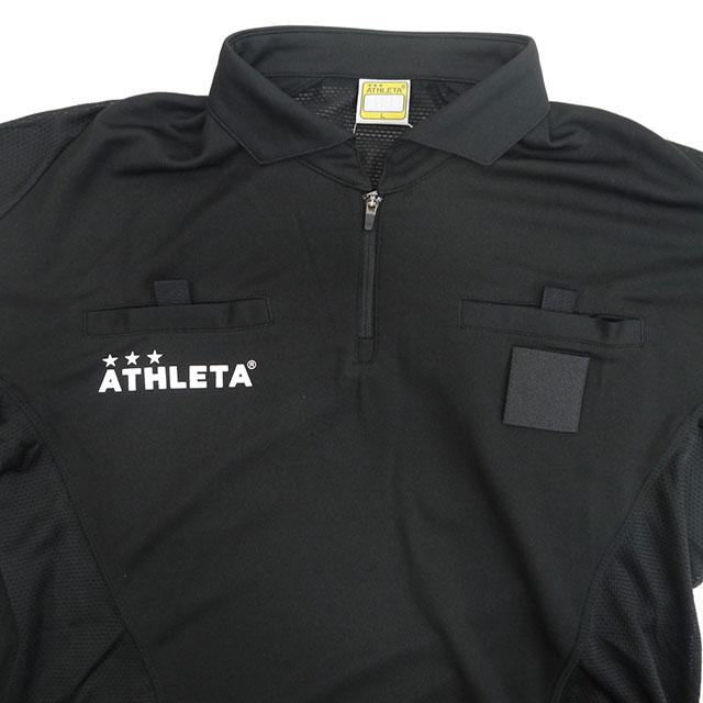 サッカー 審判服 審判着 レフェリーウェア アスレタ ATHLETA サッカー レフリーシャツ 半袖 SP-150 メンズ