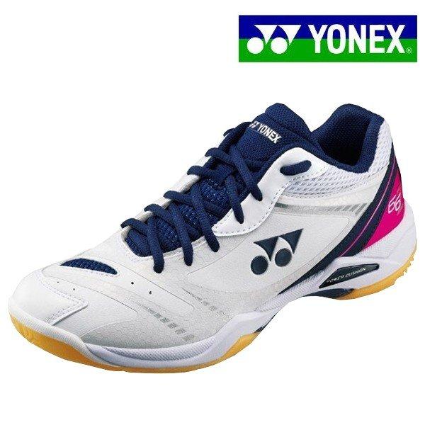 ヨネックス YONEX パワークッション66Z SHB66Z-100 男女兼用 バドミントンシューズ ローカット 2E幅 標準幅