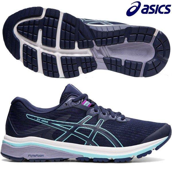 【セール】アシックス ASICS GT-1000 8 1012A460-401 レディース ランニングシューズ ジョギング ラントレ 練習 部活 通学 ピーコート 特価