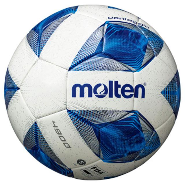 モルテン molten ヴァンタッジオ4900 芝用 F5A4900 サッカーボール 5号球 公式試合球