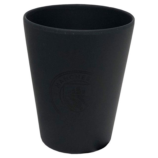 マンチェスターシティ オフィシャル バンブーカップ MC34223 サッカー プレミアリーグ サポーターグッズ タンブラー コップ 食器 ブラック 黒