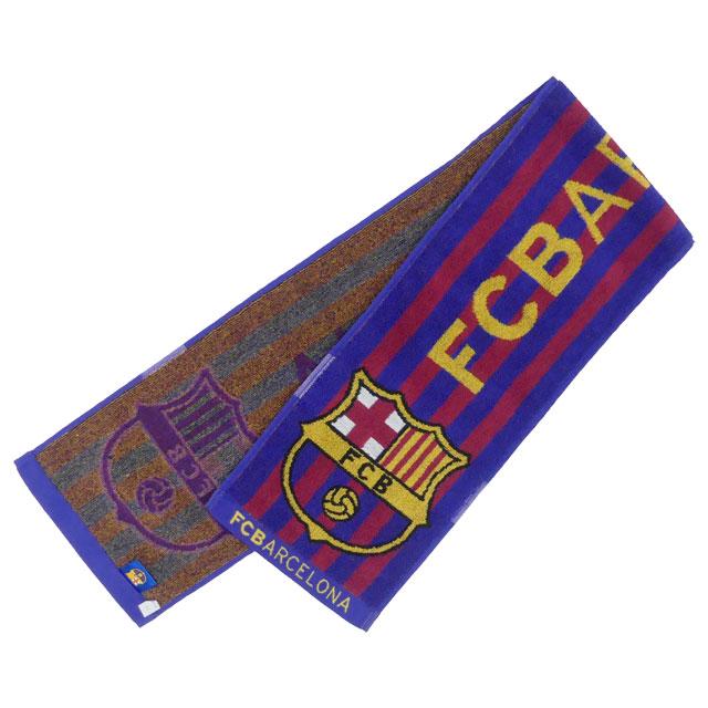 FCバルセロナ オフィシャル タオルマフラー BCN31773 サッカーグッズ 観戦 応援 海外クラブチーム