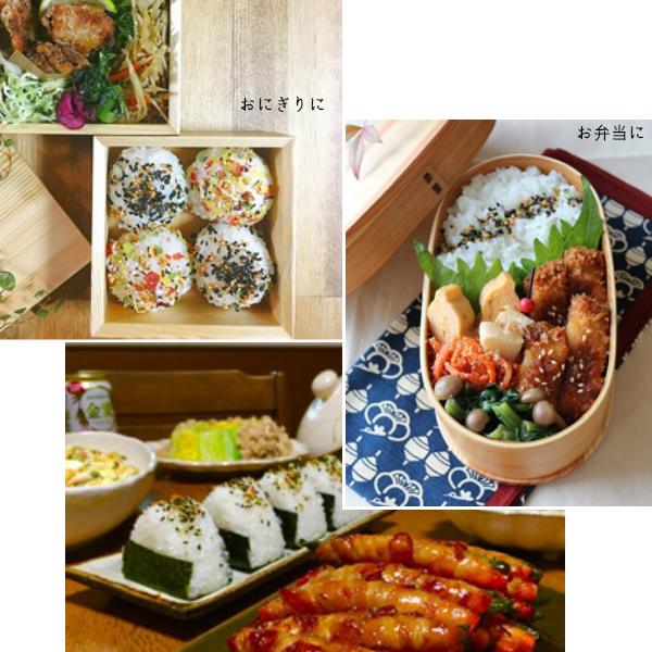 ふりかけ3品セット A 【送料無料】<br><御飯の友、花ちりめん、味ごまひじき>