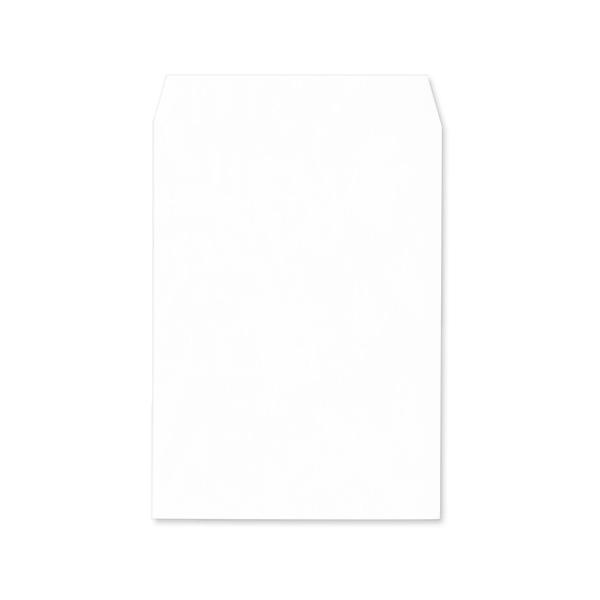 角2【テープ付】パステルホワイト100/黒1色印刷/〒枠なし(ヨコ貼りのみ)/2000枚