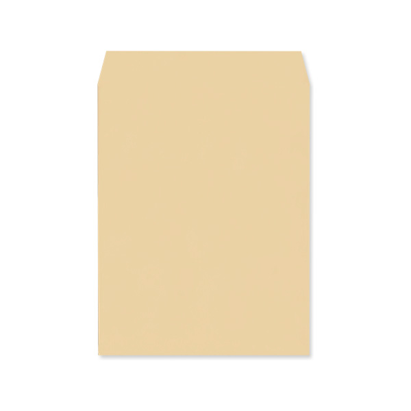 角3【テープ付】クラフト85/黒1色印刷/〒枠なし/1000枚