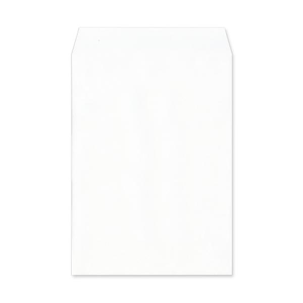 角2【テープ付】透けない(プライバシー保護)パステルホワイト100/黒1色印刷/〒枠なし(ヨコ貼りのみ)/2000枚