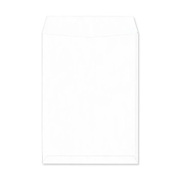 角2【テープ付】パステルホワイト100/2色印刷【黒+基本色】/〒枠なし(ヨコ貼りのみ)/3000枚