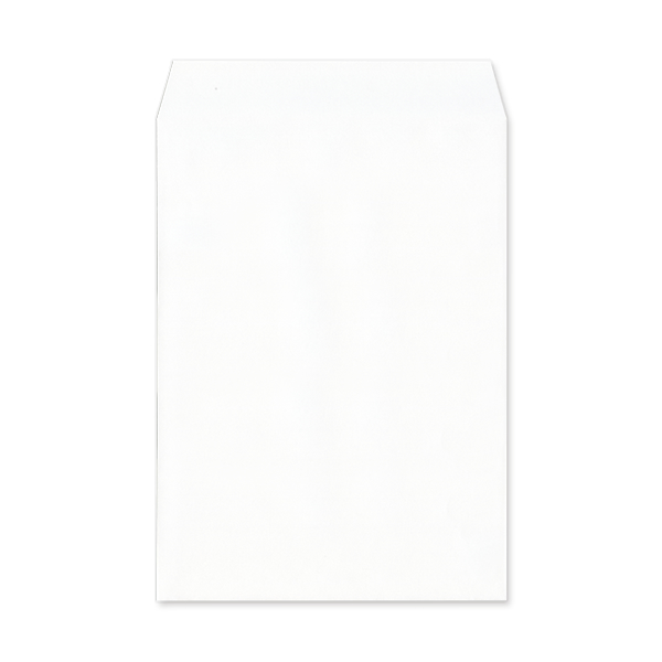 角2【テープ付】透けない(プライバシー保護)パステルホワイト100/DIC指定色1色印刷/〒枠なし(ヨコ貼りのみ)/4500枚
