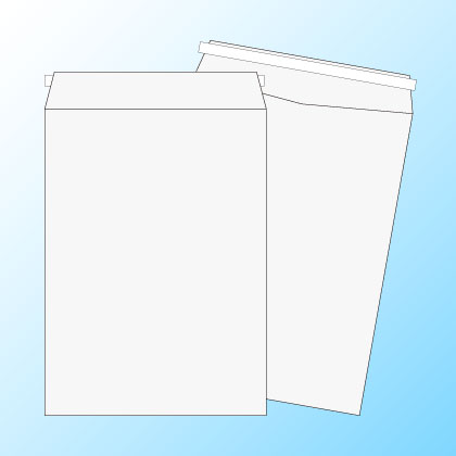 角2【テープ付】ケント100/2色印刷【黒+DIC指定色】/〒枠なし/3500枚