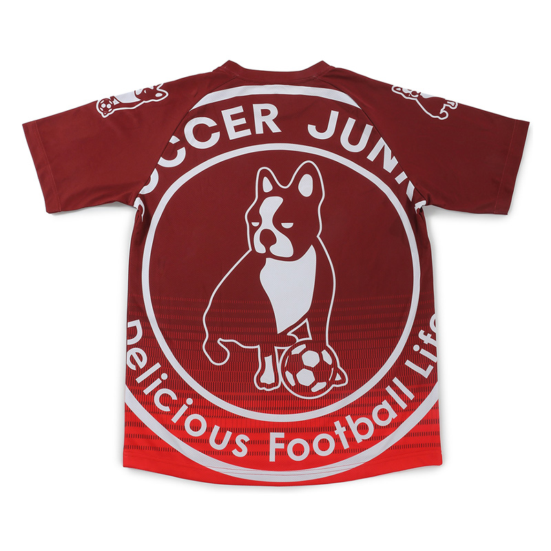 サッカージャンキー/soccer junky ジュニアプラクティスシャツ/ミラージュ+5【SJ21003K】