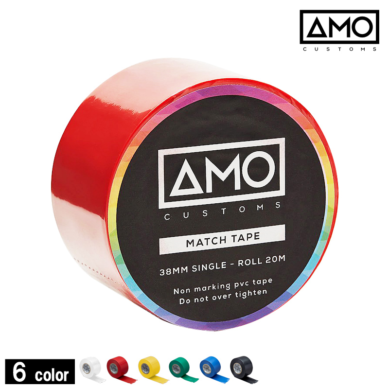 エーエムオーカスタムズ/AMO customs AMOソックステープ38mm【AMOTAPE38】