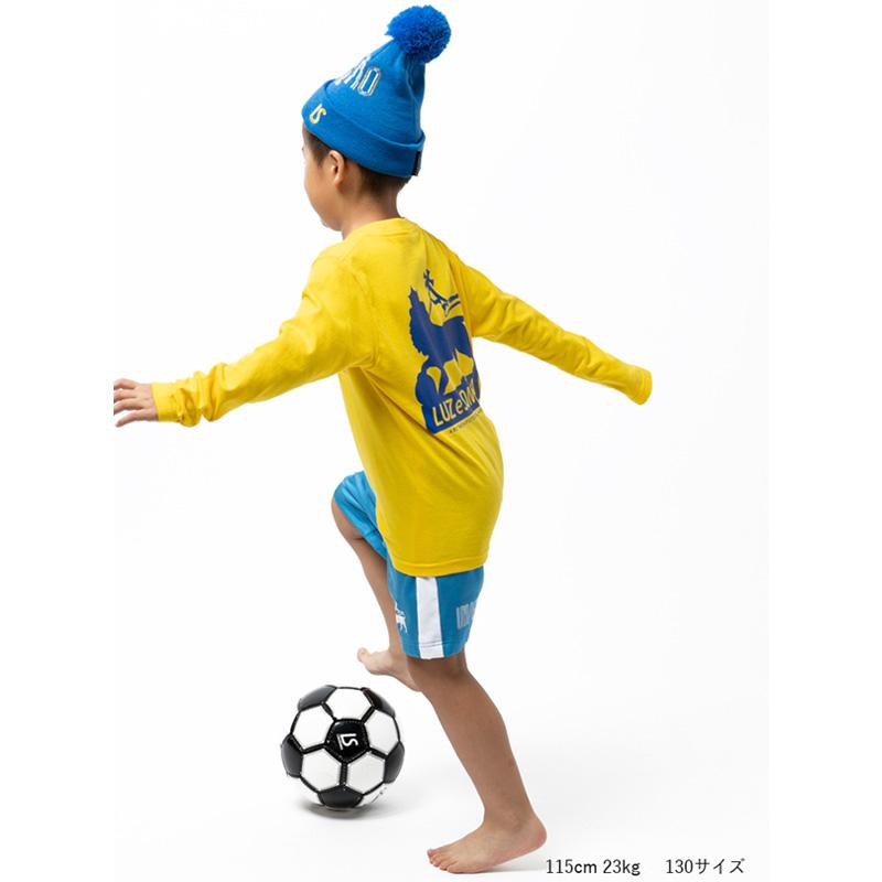 ルースイソンブラ/LUZeSOMBRA ジュニアハーフパンツ/Jr IMN STRETCH MESH LINE PANTS【F2021313】