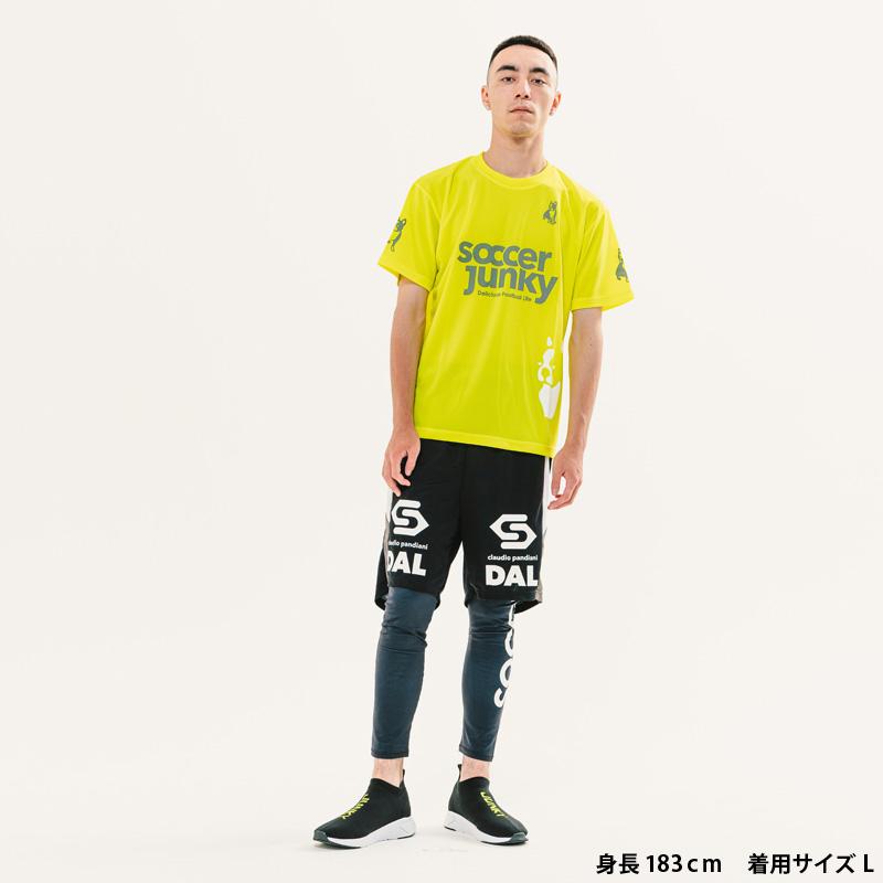 サッカージャンキー/soccerjunky プラシャツ/PANDIANIゲームシャツ【SJ0699】