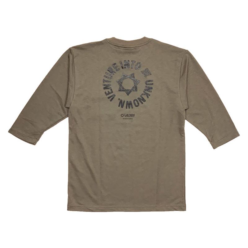 """キャルデラ/CALDEIRA ロングTシャツ/AIRLET 3/4 SLEEVE SHIRT""""ROUND GURD""""【10CR019】"""