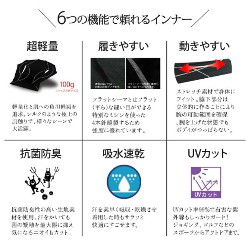 アクティバイタル/Activital コンプレッションインナー トップス【WRI1000】