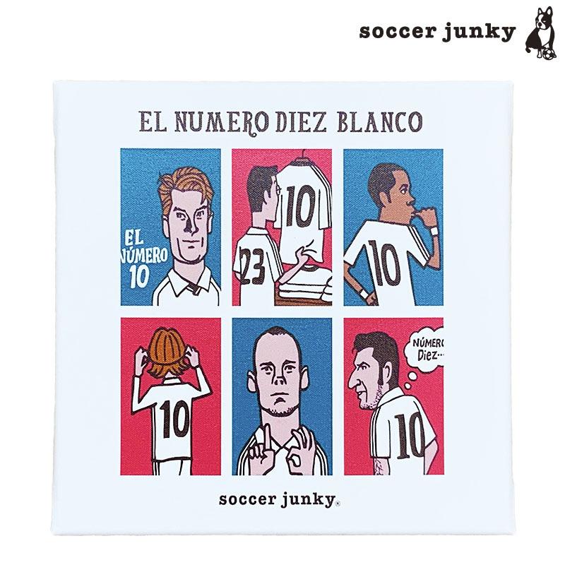 サッカージャンキー/soccerjunky アートパネル/白い10番【SJ18658】