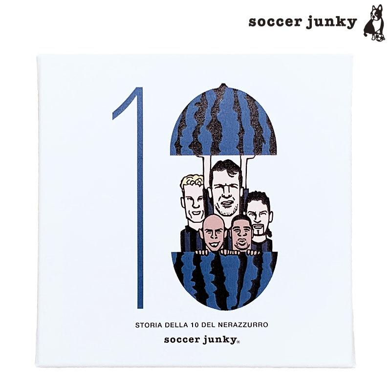 サッカージャンキー/soccerjunky アートパネル/青ミラノ【SJ18659】