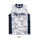 Spazio/スパッツィオ camuffamento no sleeve shirt/ノースリーブプラシャツ【GE-0363・GE-0384】