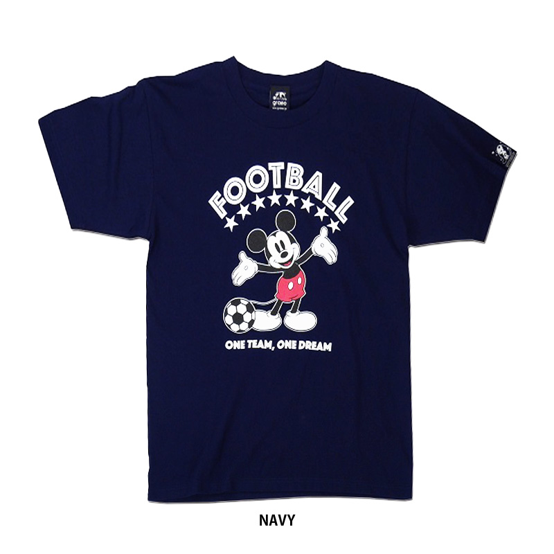 gramo/グラモ ×Mickey Mouse ONE DREAM/Tシャツ 【T-022】