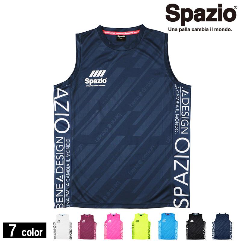 スパッツィオ/Spazio プラクティスシャツ/接触冷感ノースリーブ【GE-0651】