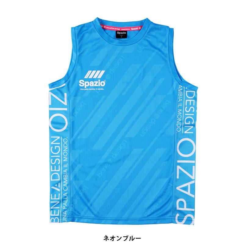 スパッツィオ/Spazio ジュニアプラクティスシャツ/Jr.接触冷感ノースリーブ【GE-0671】