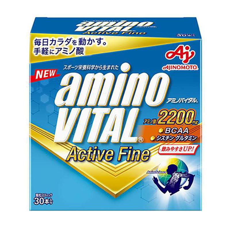 (取り寄せ)アミノバイタル/aminoVITAL サプリメント/アミノバイタルアクティブファイン(30本入り)【16AM-5310】