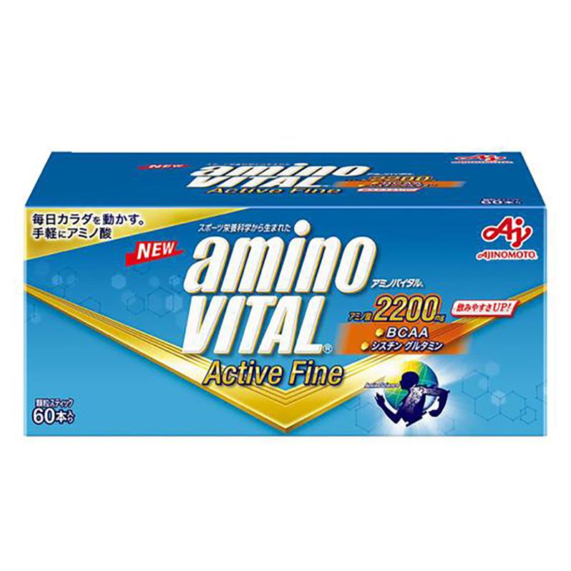 (取り寄せ)アミノバイタル/aminoVITAL サプリメント/アミノバイタルアクティブファイン(60本入り)【36JAM-84300】