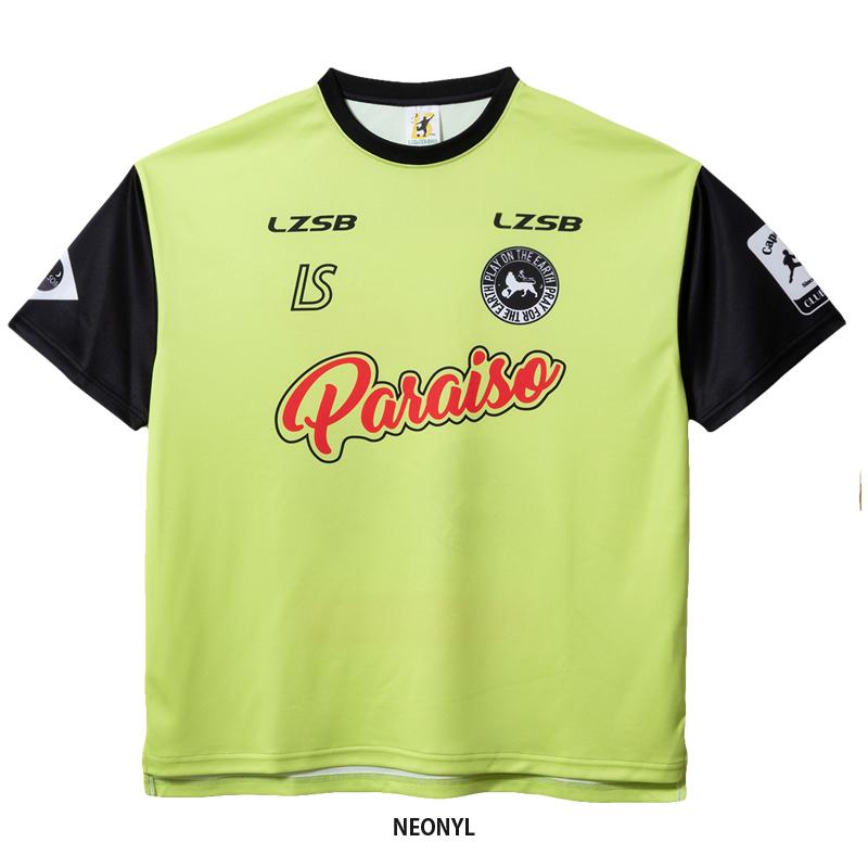 ルースイソンブラ/LUZeSOMBRA プラクティスシャツ/CLUB PARAISO CAM GAME-SHIRT【F1911025】