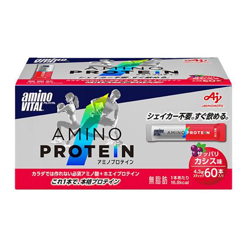(取り寄せ)アミノバイタル/aminoVITAL アミノプロテイン(カシス味)60本入【36JAM-83010】