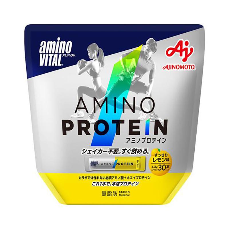 (取り寄せ)アミノバイタル/aminoVITAL アミノプロテイン(レモン味)30本入【16AM-2750】