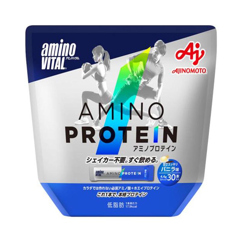 (取り寄せ)アミノバイタル/aminoVITAL アミノプロテイン(バニラ味)30本入【16AM-2700】