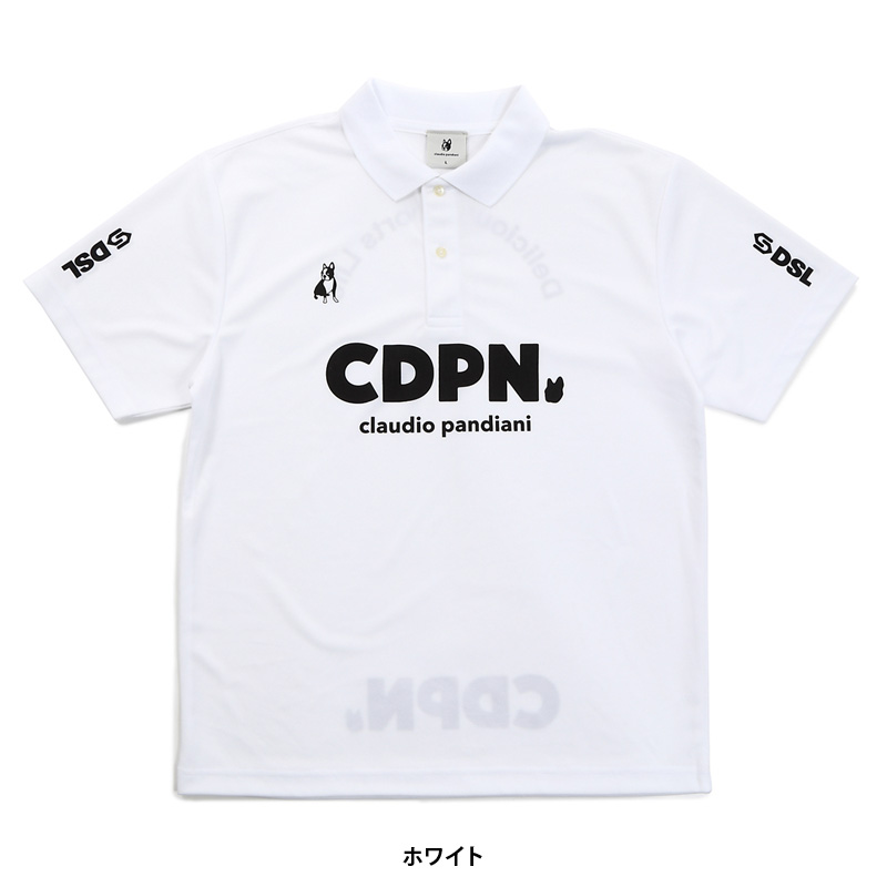 サッカージャンキー/soccer junky ポロシャツ/ポロっと犬+1【CP20051】