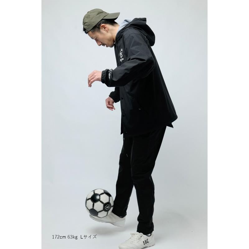 ルースイソンブラ/LUZeSOMBRA ピステジャケット/TWM TAFTA HOODED COACH JKT【L1211250】