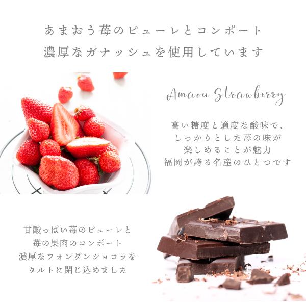 f-confectionary あまおうフォンダンショコラタルト 冷凍発送 proper