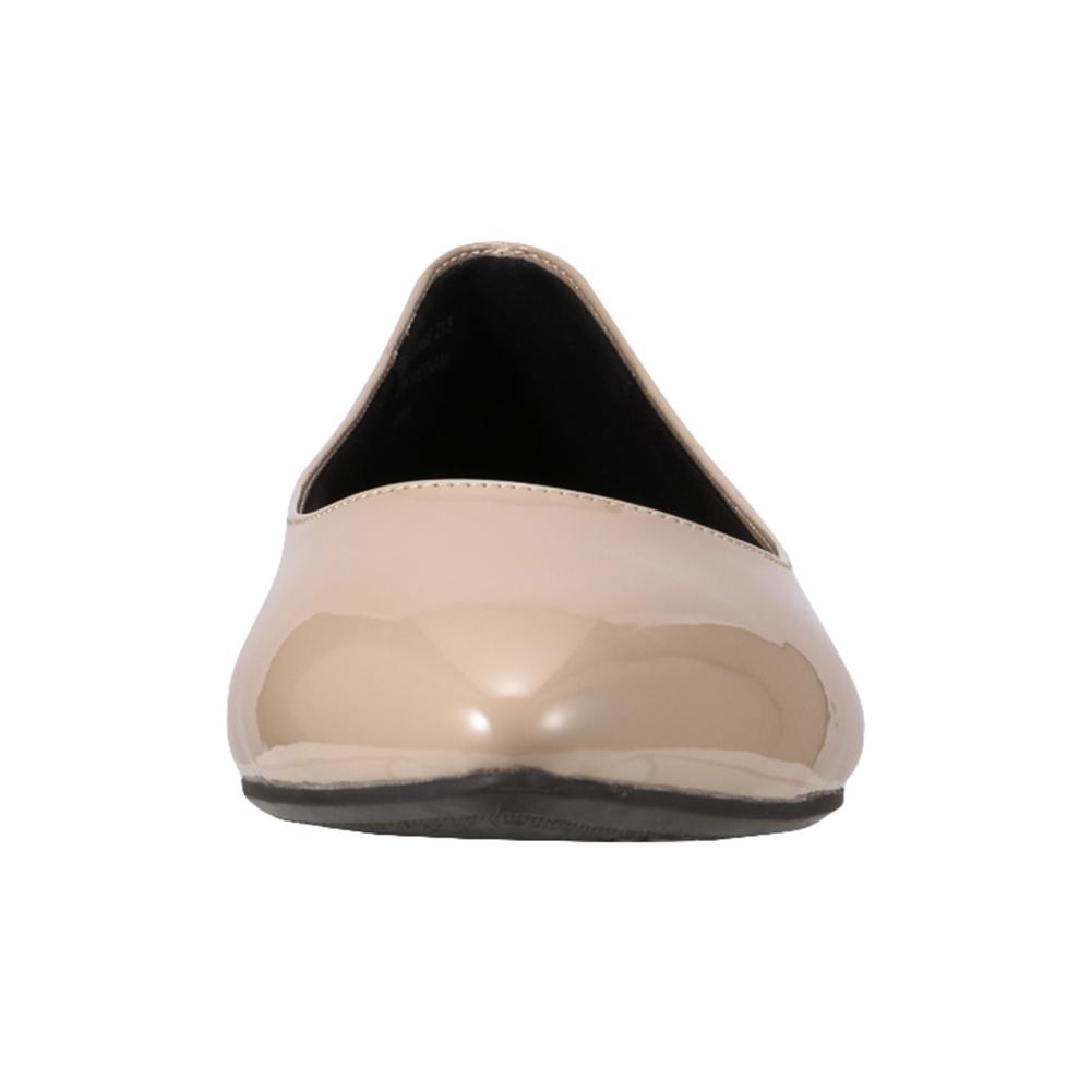 [フワラク] fuwaraku FR-1302 レディース|パンプス|防水 消臭|防水 ウォータープルーフ|大きいサイズ対応 24.5cm 25.0cm 25.5cm|ベージュ