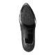 [フワラク プレミアム] fuwaraku premium FR-600 レディース | ポインテッドトゥパンプス 黒 | 本革 日本製  | 低反発インソール フォーマル | 通勤 オフィス | ブラック