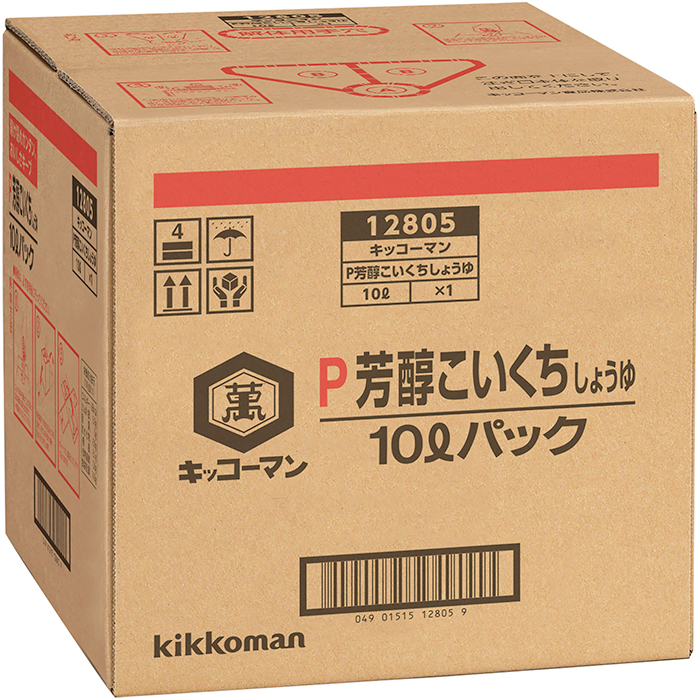 【常温】芳醇こいくち醤油(BIB) 10L (キッコーマン食品/ボックスタイプ)